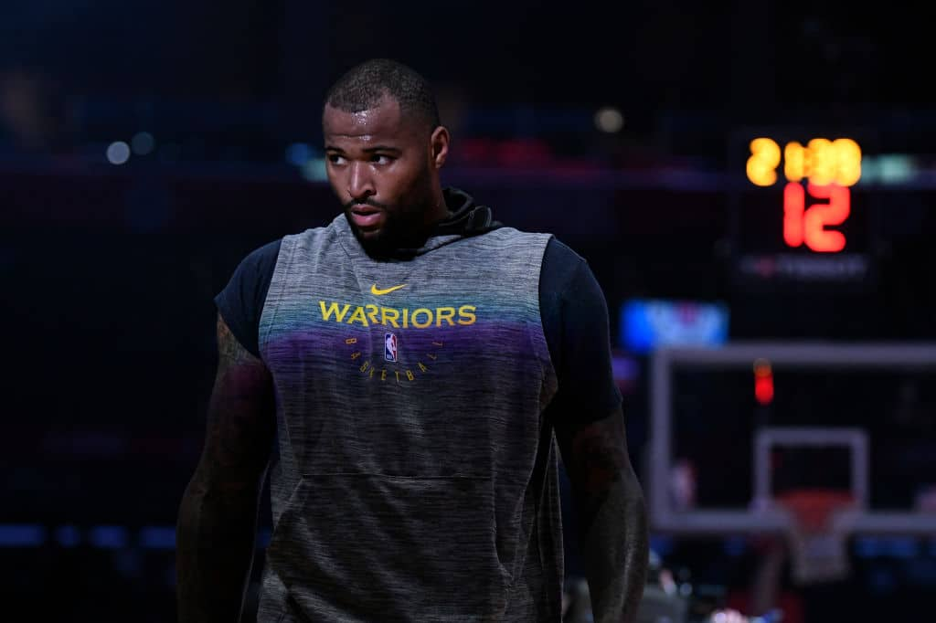 REPORT // DeMarcus Cousins Aiming to Return After Christmas
