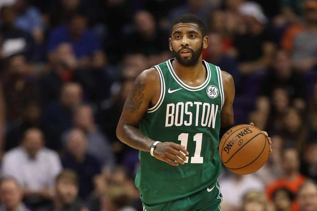 "Kyrie Irving: Celtics ""Almost at That Rock Bottom Point"""