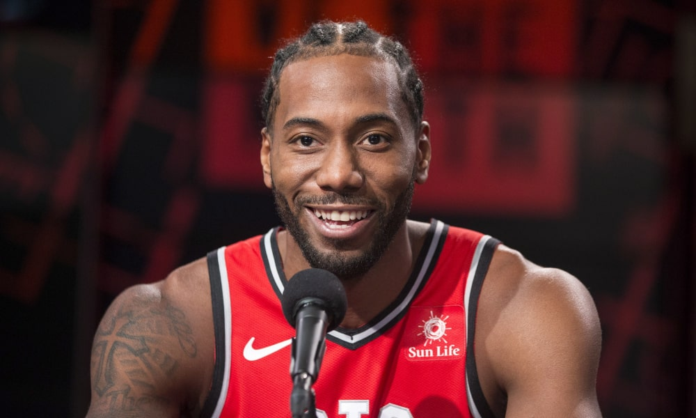 Kawhi Leonard Signs Sneaker Deal with New Balance