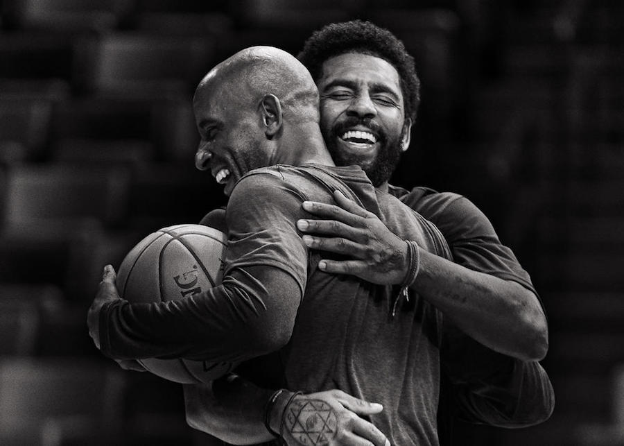 Watch Kyrie Play One-On-One With His Dad in New Nike Spot