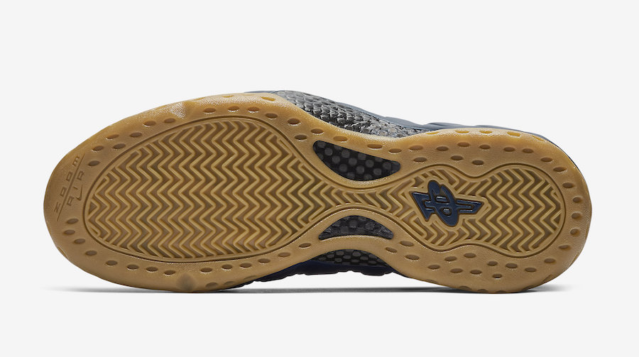 f1626cd61cc65 Nike s Navy   Gum Foamposite One Releases Next Week! - HOUSE OF HEAT ...