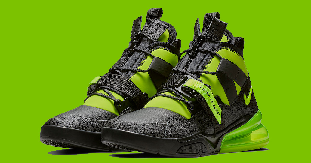 The Air Force 270 Utility Gets Fully Charged HOUSE OF HEAT