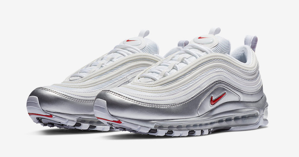 "Official Looks at the Entire Nike Air Max 97 ""Metallic Pack"""