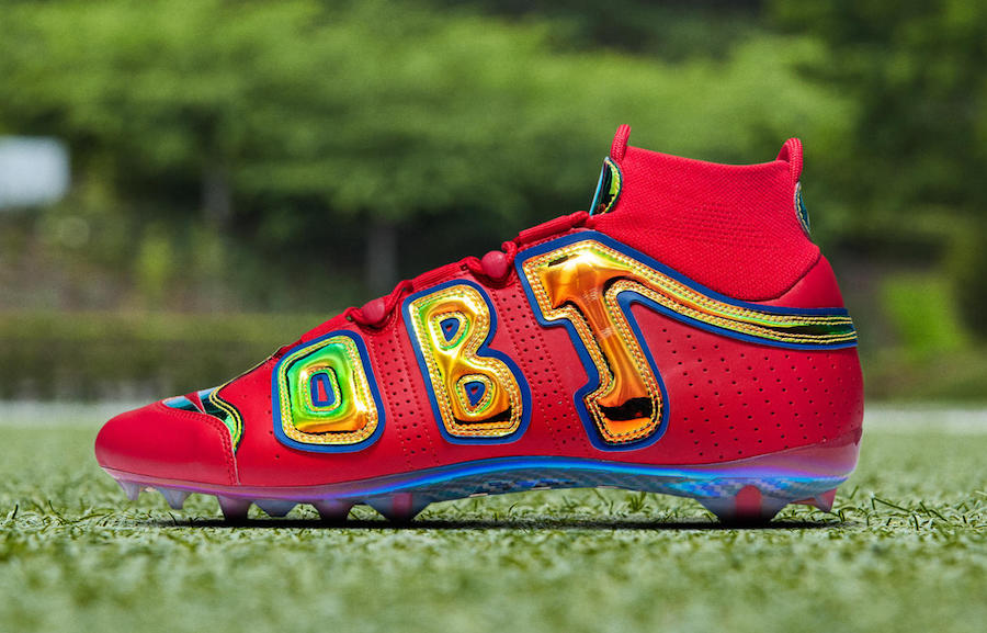 OBJ Rocked These Wild Cleats in Last Night's Pre-Game