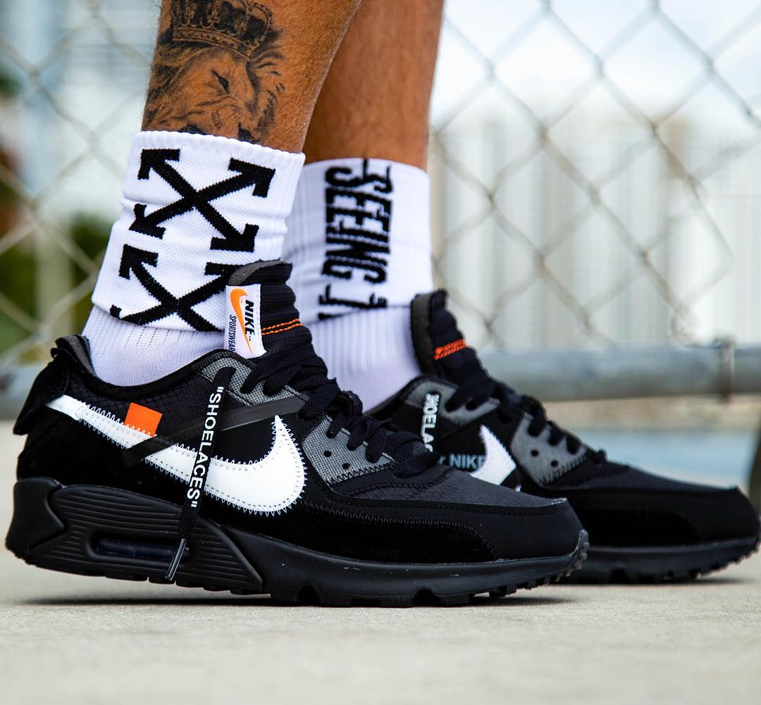 info for cf2ba 8c432 A Release Date is Set for the OFF-WHITE x Nike Air Max 90 ...