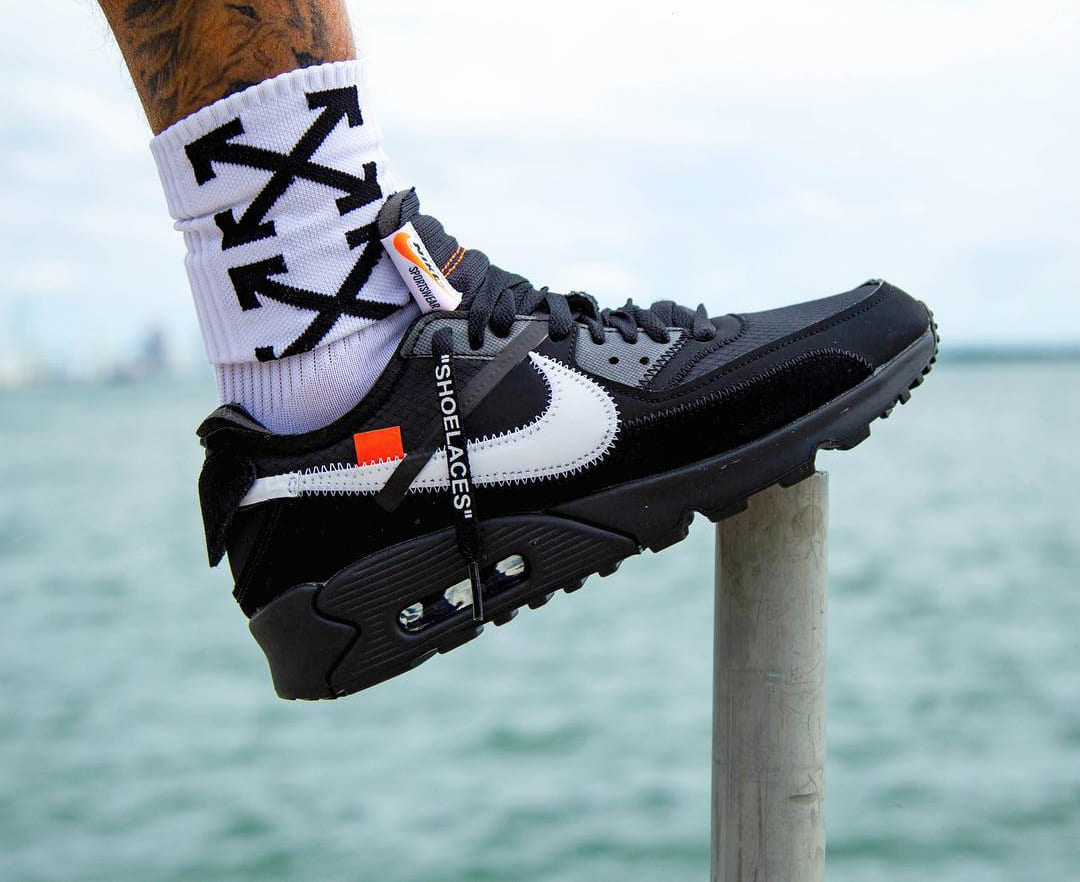 the latest 69ba9 9a5da A Release Date is Set for the OFF-WHITE x Nike Air Max 90 ""