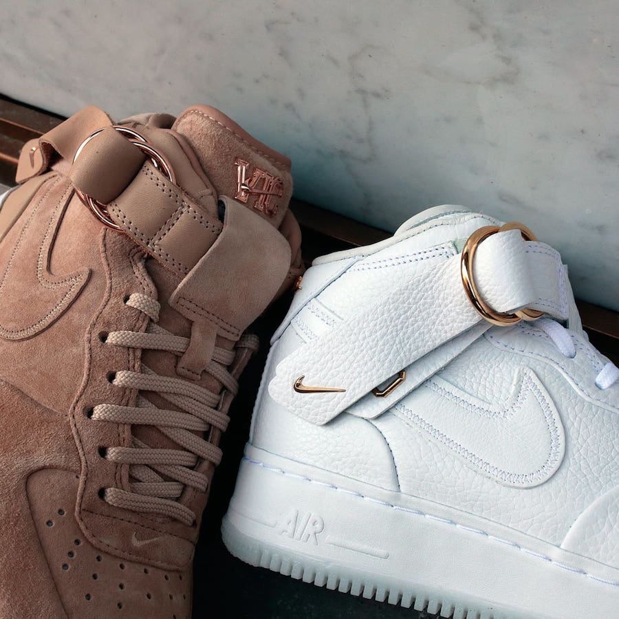 Available Now Victor Cruz x Nike Air Force 1 Mid HOUSE