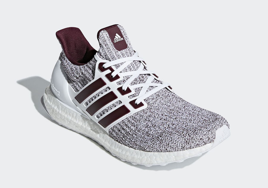 uk availability f0697 888aa White and Burgundy Hit the Ultra BOOST 4.0 for Fall - HOUSE ...