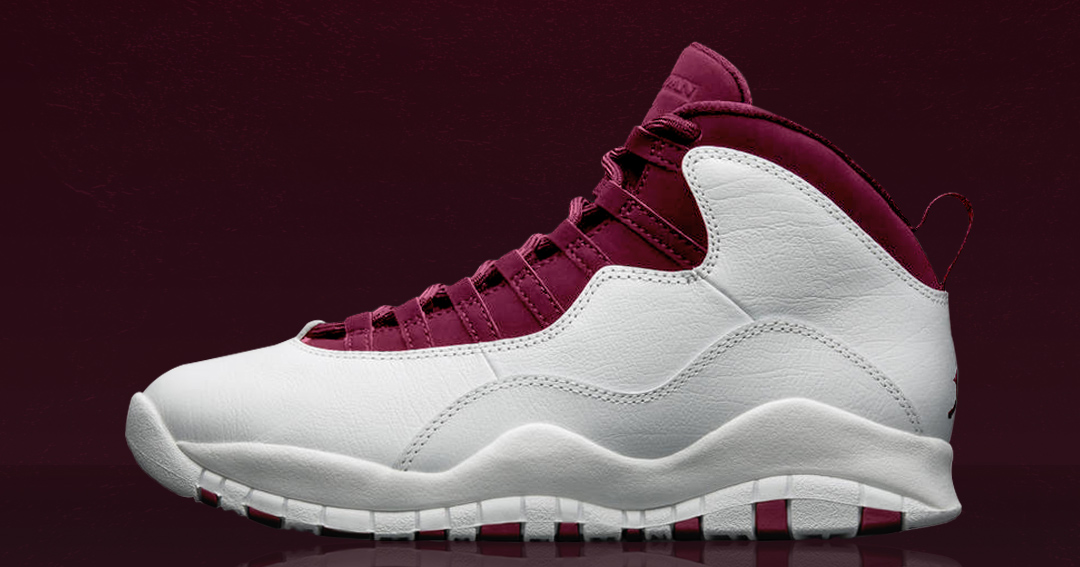 "Concept Lab // Air Jordan 10 ""Maroon"""