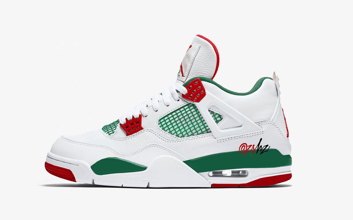 b9242e47b1f89e These Two Air Jordan 4s Pay Homage to Sal s Pizzeria from Spike Lee s  Do  the