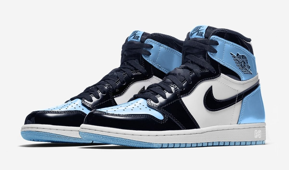 """The """"UNC"""" Air Jordan 1 Patent Leather Release Has Been Pushed Back"""