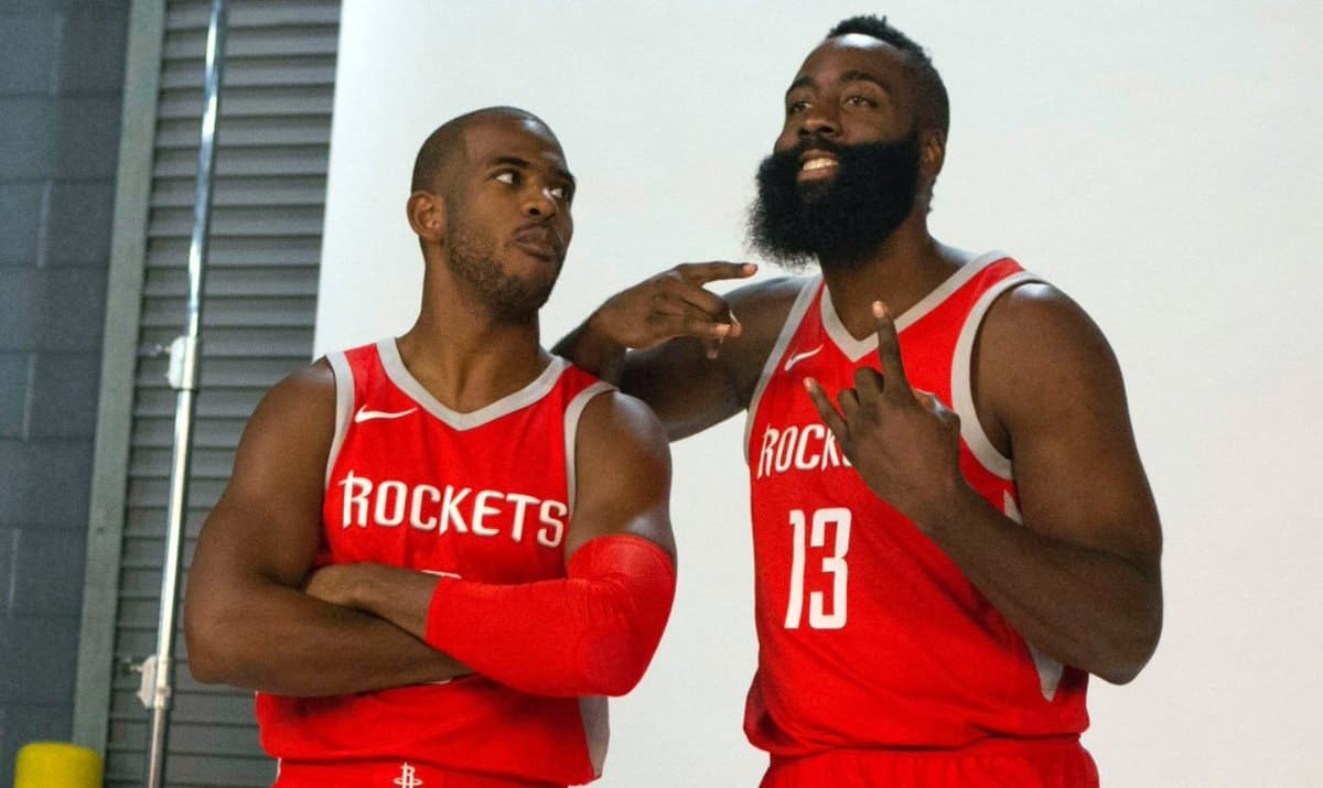 "Chris Paul: James Harden is a ""Really Good Post Defender"""