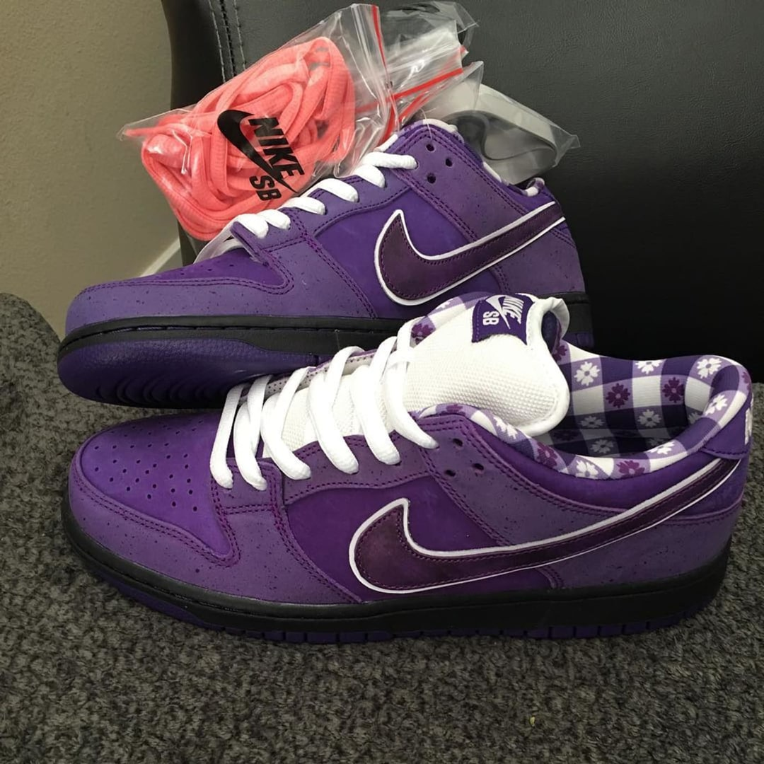 "Your Best Look Yet at the Concepts x Nike SB Dunk ""Purple Lobster"""
