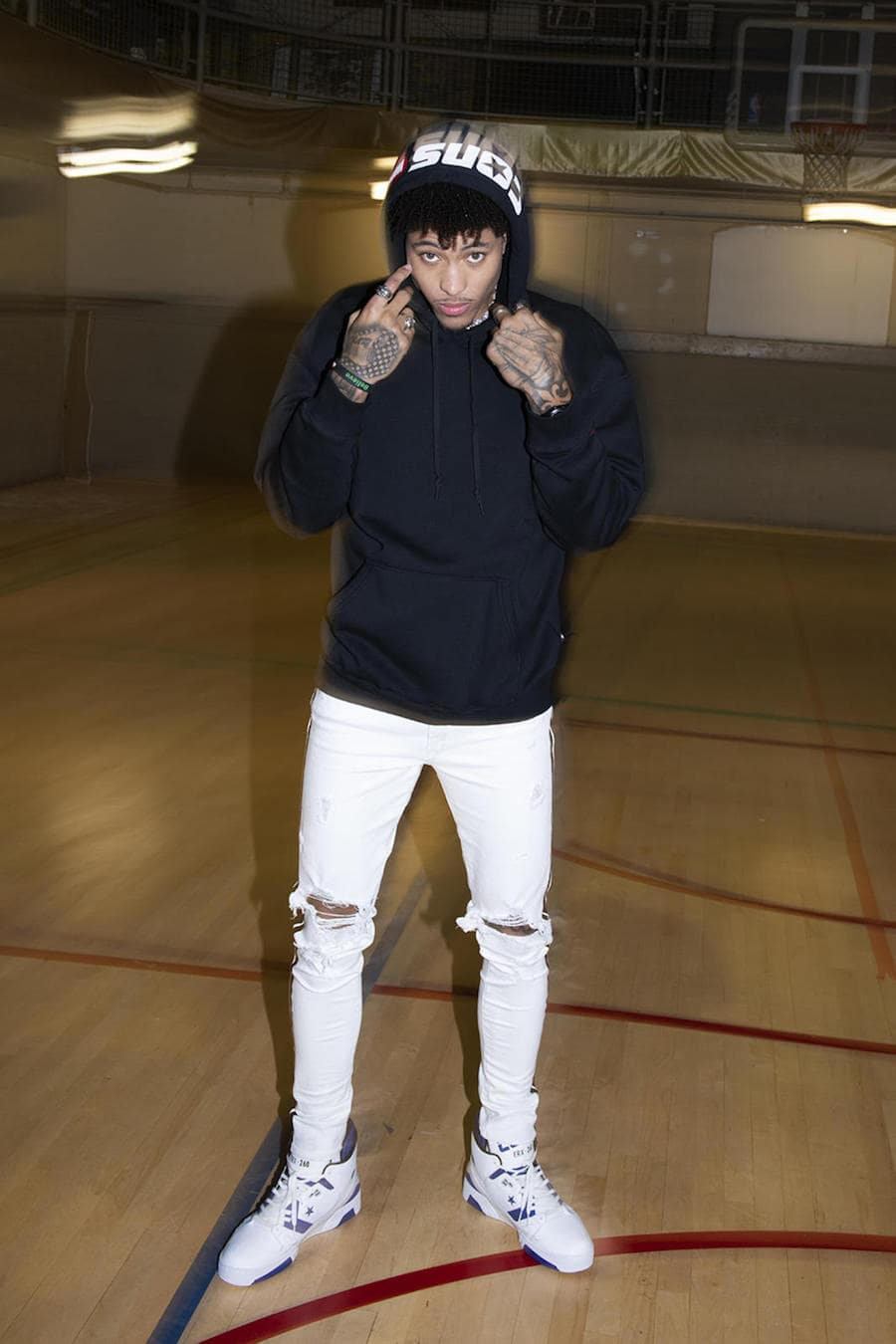 Converse Sign Kelly Oubre Jr.