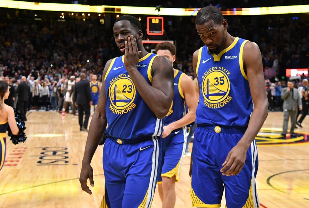 "Draymond Green Called Kevin Durant a ""Bitch"" During On-Court Confrontation"