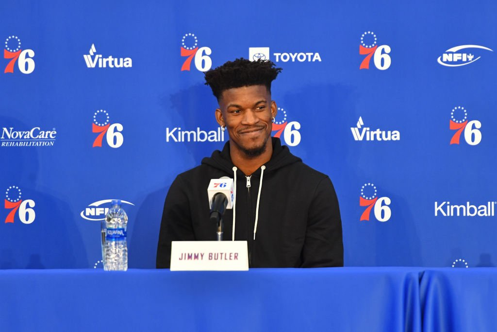 Jimmy Butler is Still Throwing Shade at Wolves Players During 76ers Presser