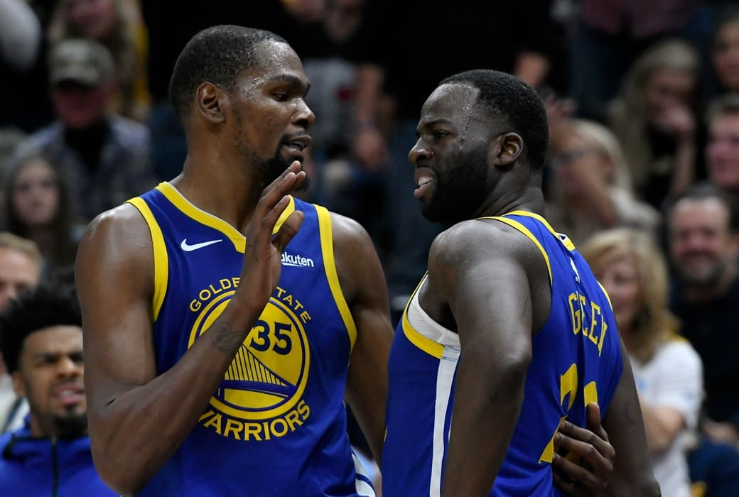 Unnamed Player: There's 'No Way' Durant Is Re-Signing After Draymond Feud