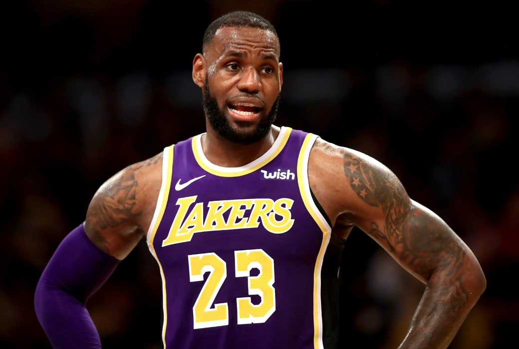 Lakers Staffer Said if LeBron Was Out for 10 Games the Team Would Be in Danger of Missing Playoffs