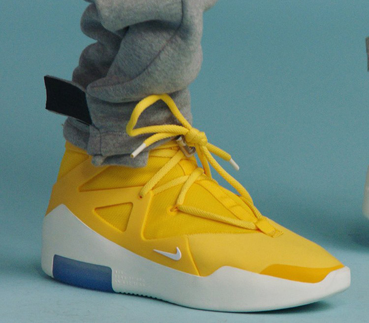 Nike x Fear of God Surfaces in Yellow