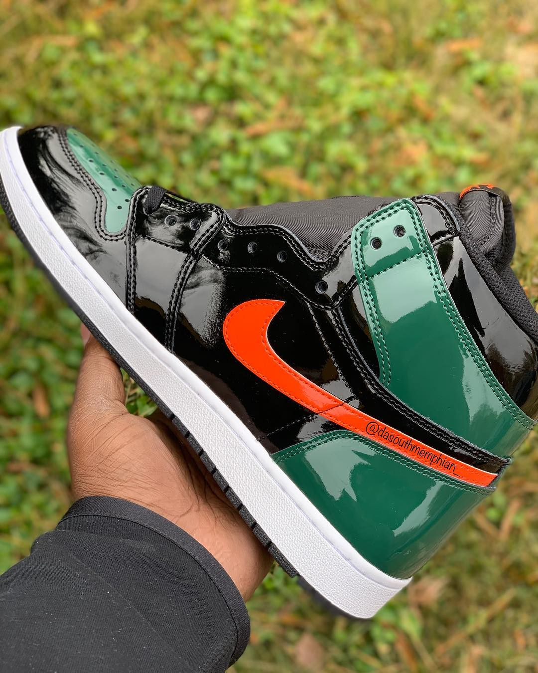 Your Best Look Yet at SoleFly's Air Jordan 1 Patent Leather for Art Basel