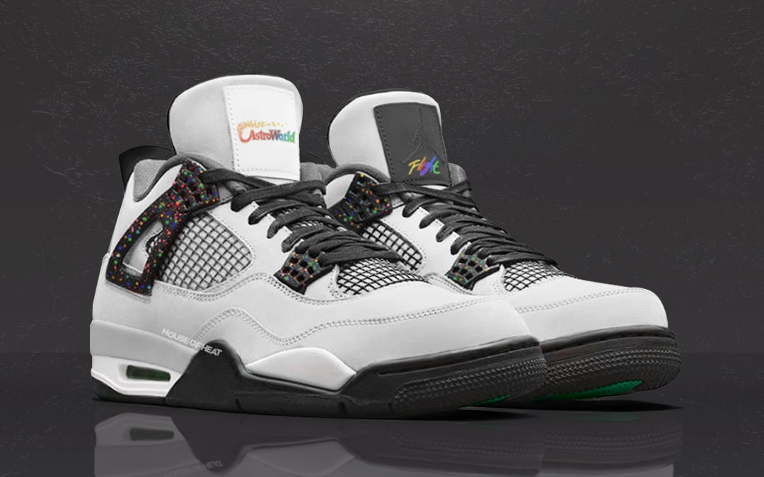 "Concept Lab // Air Jordan 4 ""Astroworld"""
