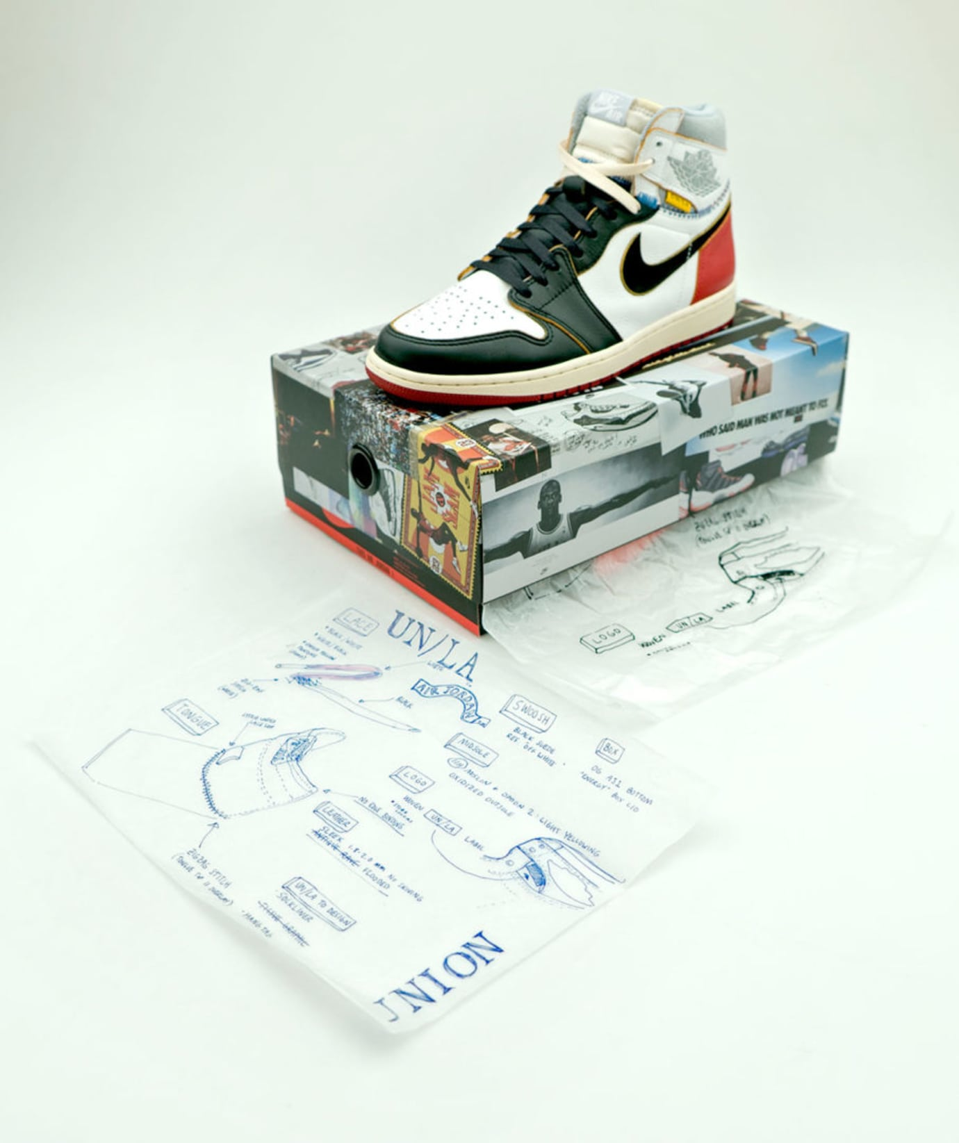 huge discount d8c0e 56b36 It Took Nine Attempts to Nail Down the Union x Air Jordan 1 ...