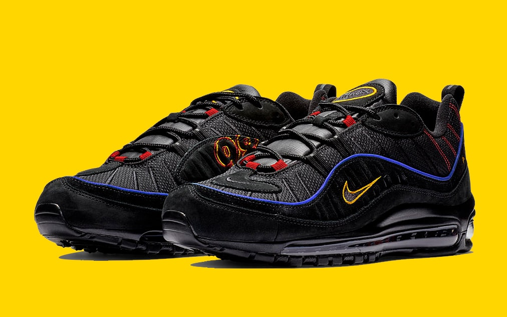 1bb60c72e918f8 Big Logos Continue on this Playful Air Max 98 - HOUSE OF HEAT ...