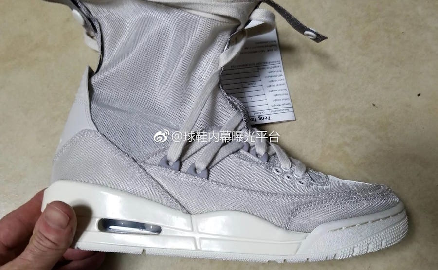 The Air Jordan 3 Gets Booted