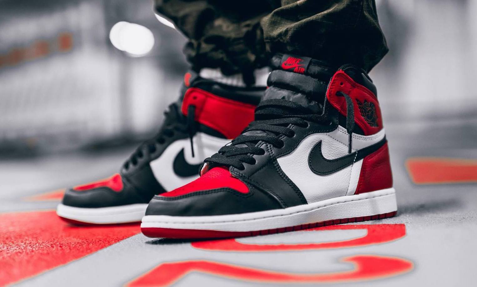 "37066bee0e7 Sure, this is just a ""Black Toe"" Air Jordan 1 with a red toe cap and black  tongue, but it combined two iconic colorways to give us an all-new take on  the ..."