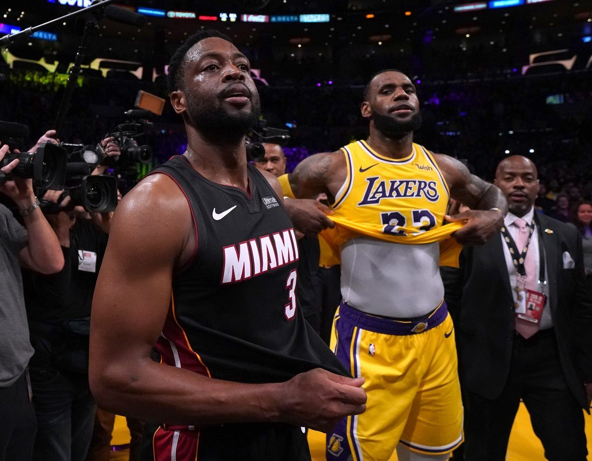 Dwyane Wade Says He Knew LeBron James Would Leave Cleveland for LA