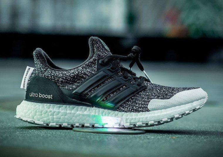 "Detailed Looks at the Game of Thrones ""Night's Watch"" Ultra BOOST"