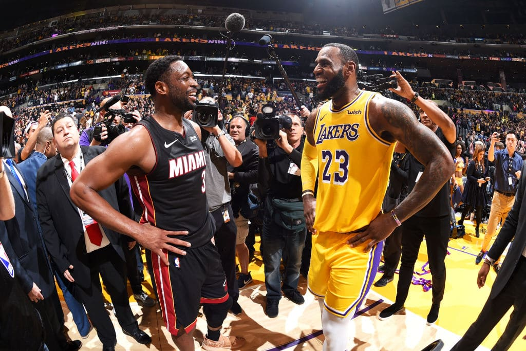 "Dwyane Wade: LeBron James Signing With Lakers Was ""His Ultimate Goal"""