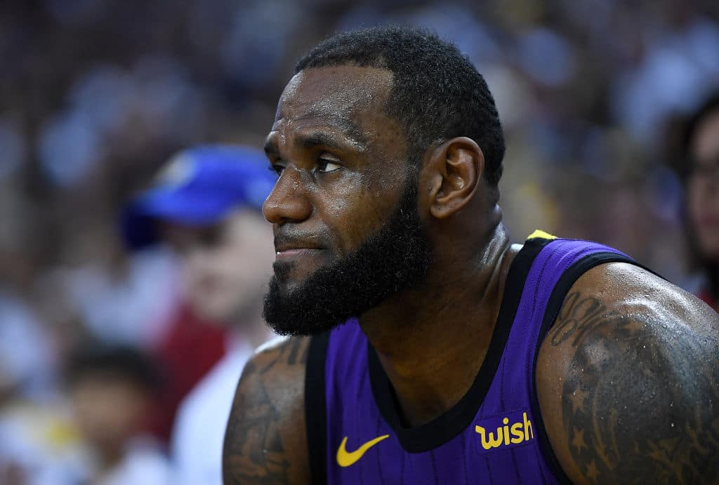 "Report // LeBron James Suffered a ""Significant"" Left Groin Strain"
