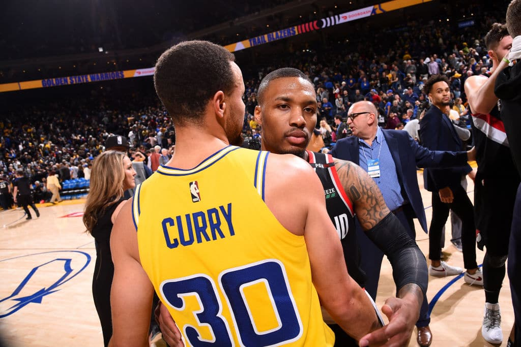 "Damian Lillard: ""Real Warriors Fans Aren't Able to Get into the Games"""
