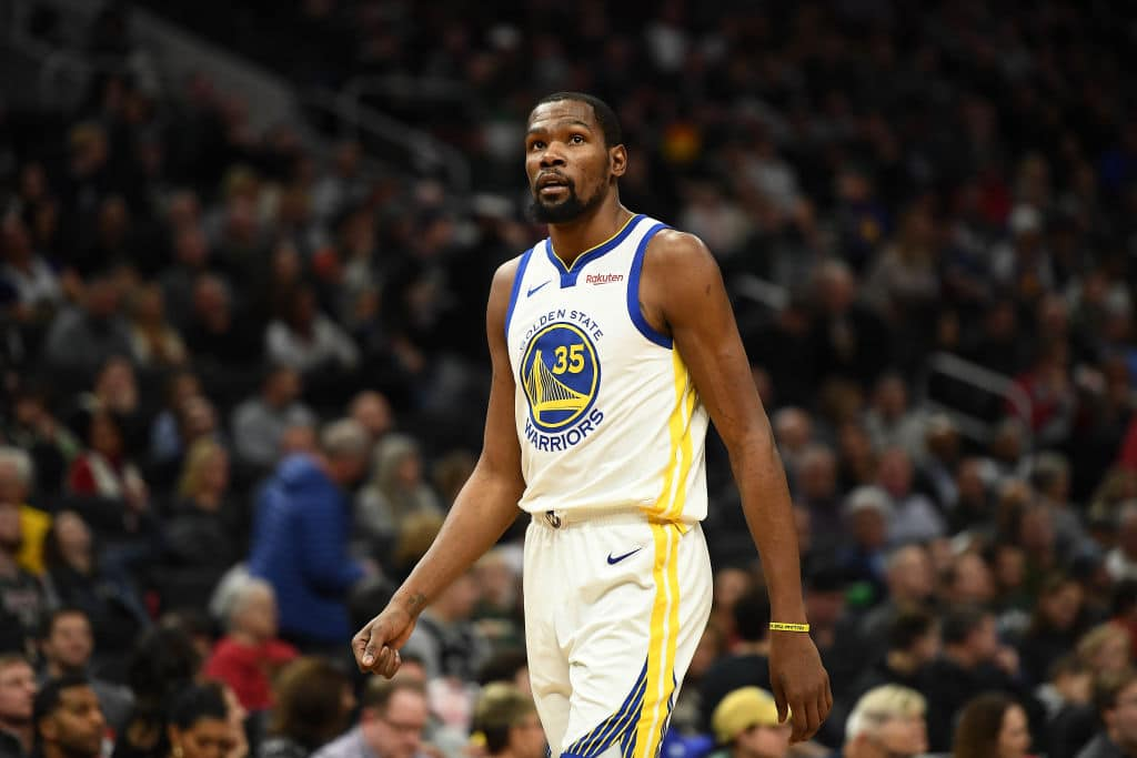 """Kevin Durant — """"We'll Probably All Get Statues Here"""""""
