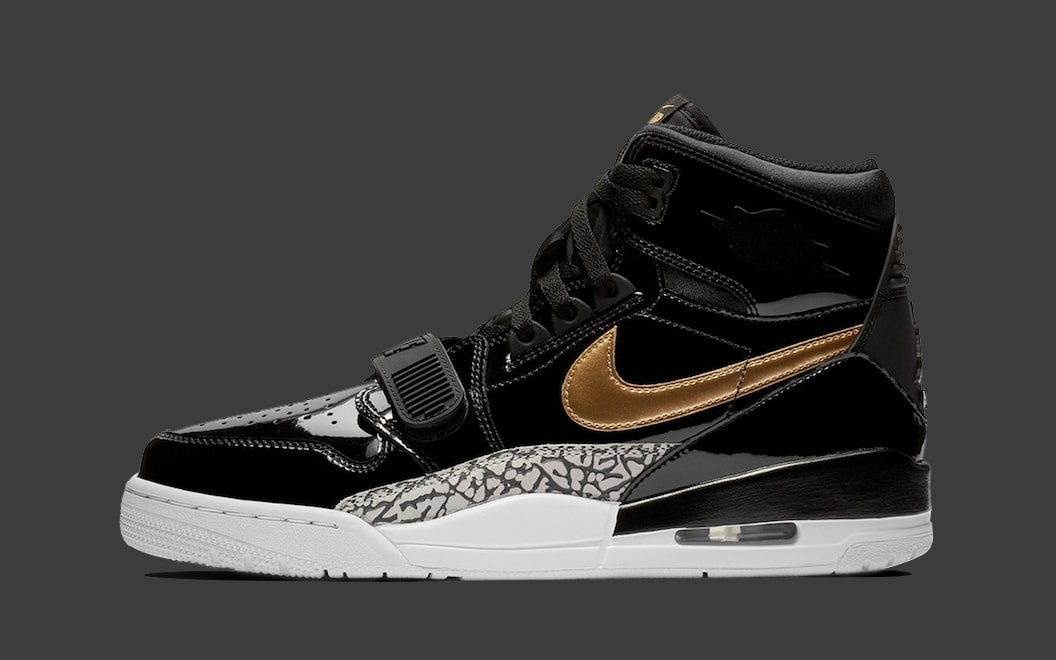 half off 38d28 b69f3 The Jordan Legacy 312 Gets the Patent Leather Treatment