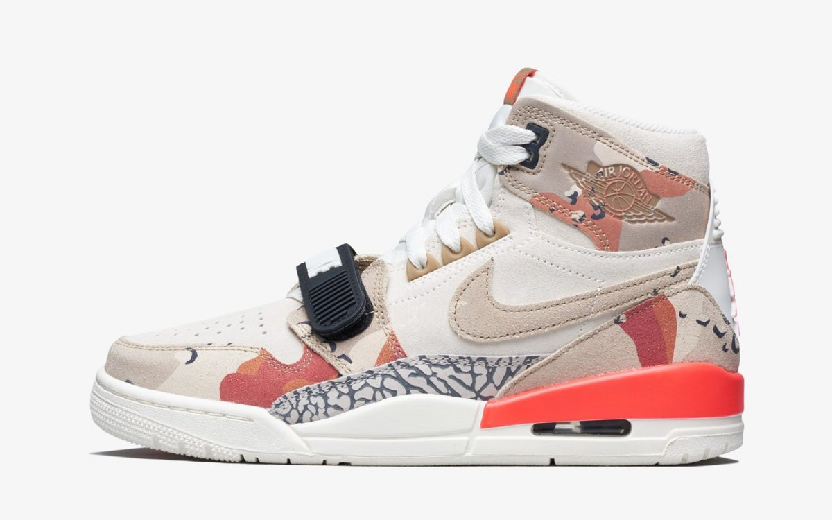 Desert Camo Hits the Jordan Legacy 312