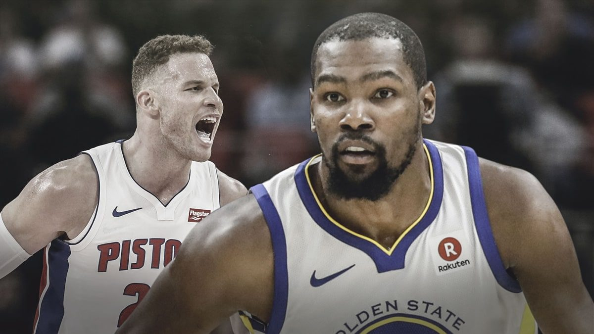 "Kevin Durant: Blake Griffin ""Not Playing Like a Traditional Big"""