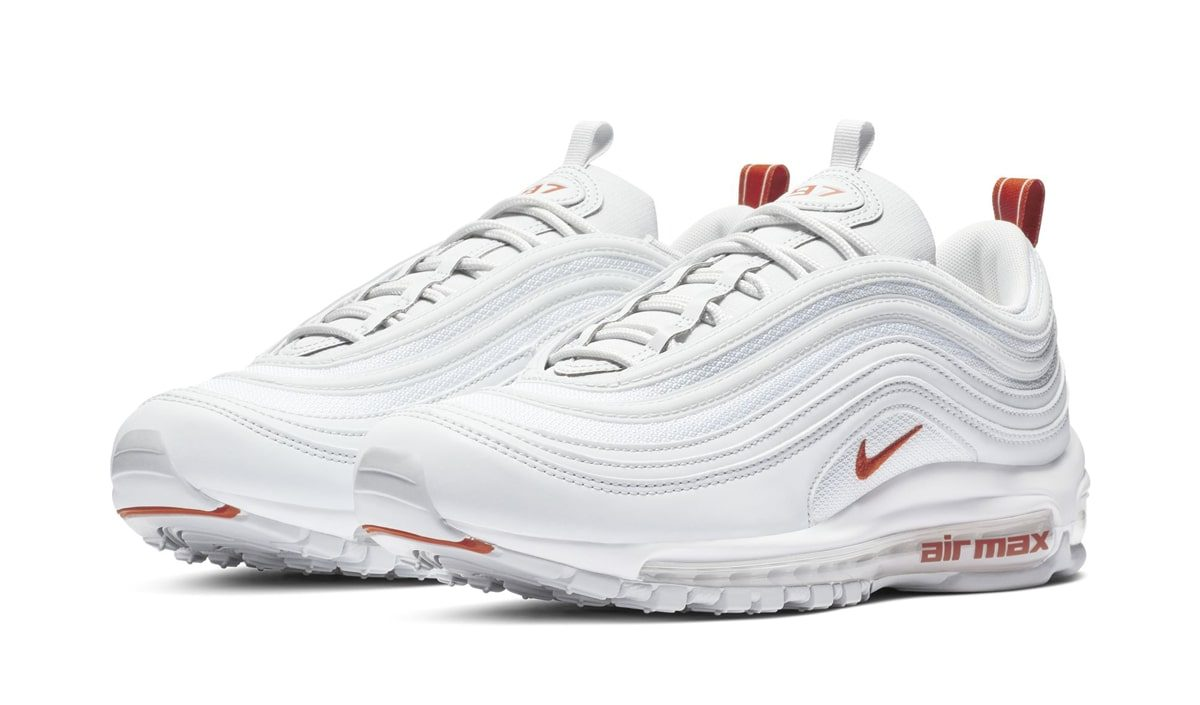 Available Now // Air Max 97 Arrives in Longhorns-Themed White and Orange