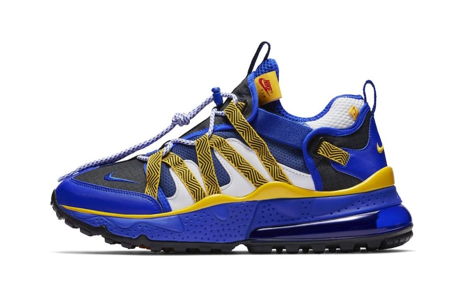 The Nike Air Max 270 Bowfin to Release in Warriors Colors