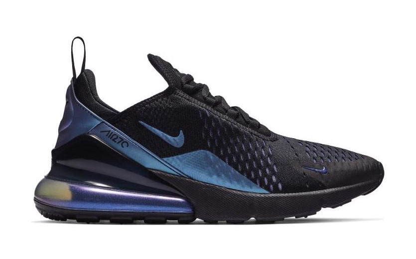 The Air Max 270 Gets Stacked with Purple and Black
