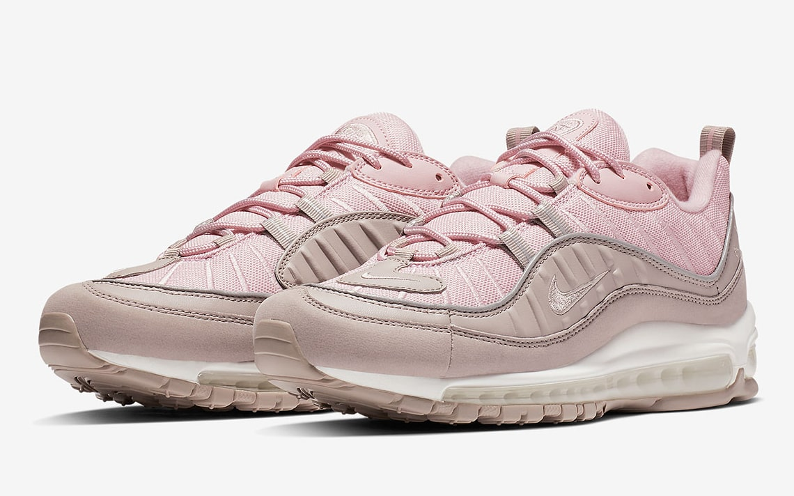 The Nike Air Max 98 Gets Tickled Pink