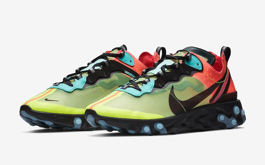 Two Vibrant New Colorways are Coming for the React Element 87