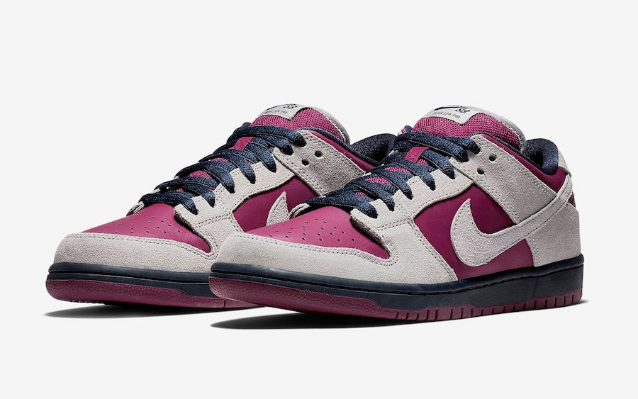 The Nike SB Dunk Gets Dipped in Burgundy