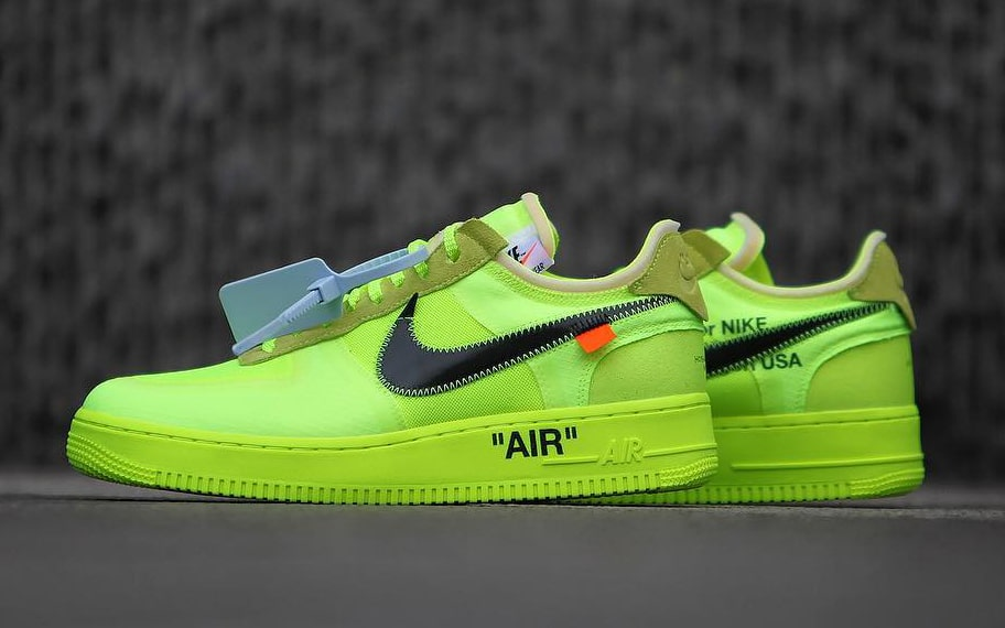 "c3ad8bd7291 OFF-WHITE x Nike Air Force 1 Low ""Black Come"". Release Date  December 19th  2018"