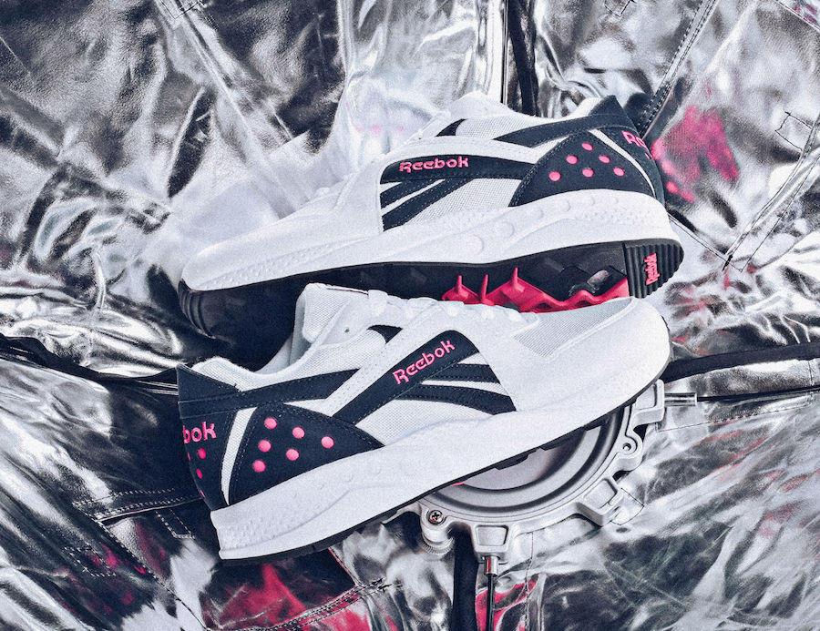 Available Now // Reebok Pyro OG Pink and Navy