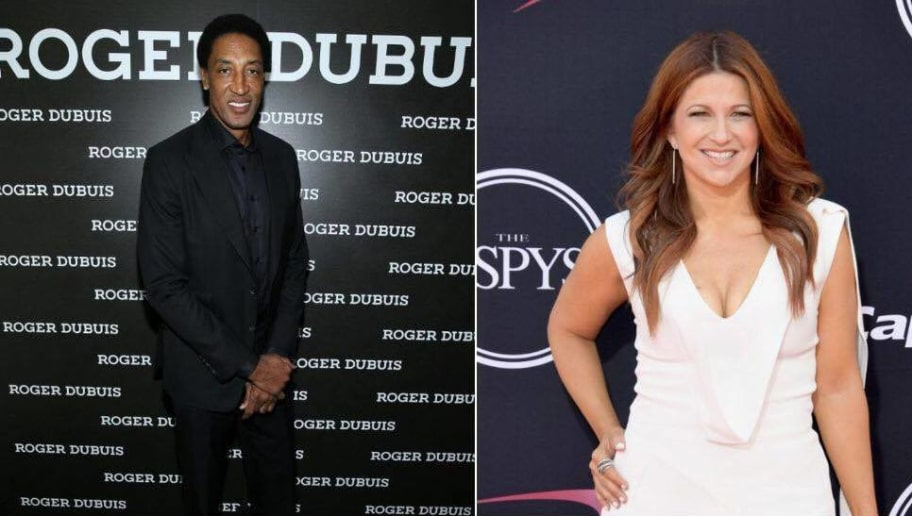 Scottie Pippen Shoots His Shot With ESPN's Rachel Nichols on Instagram