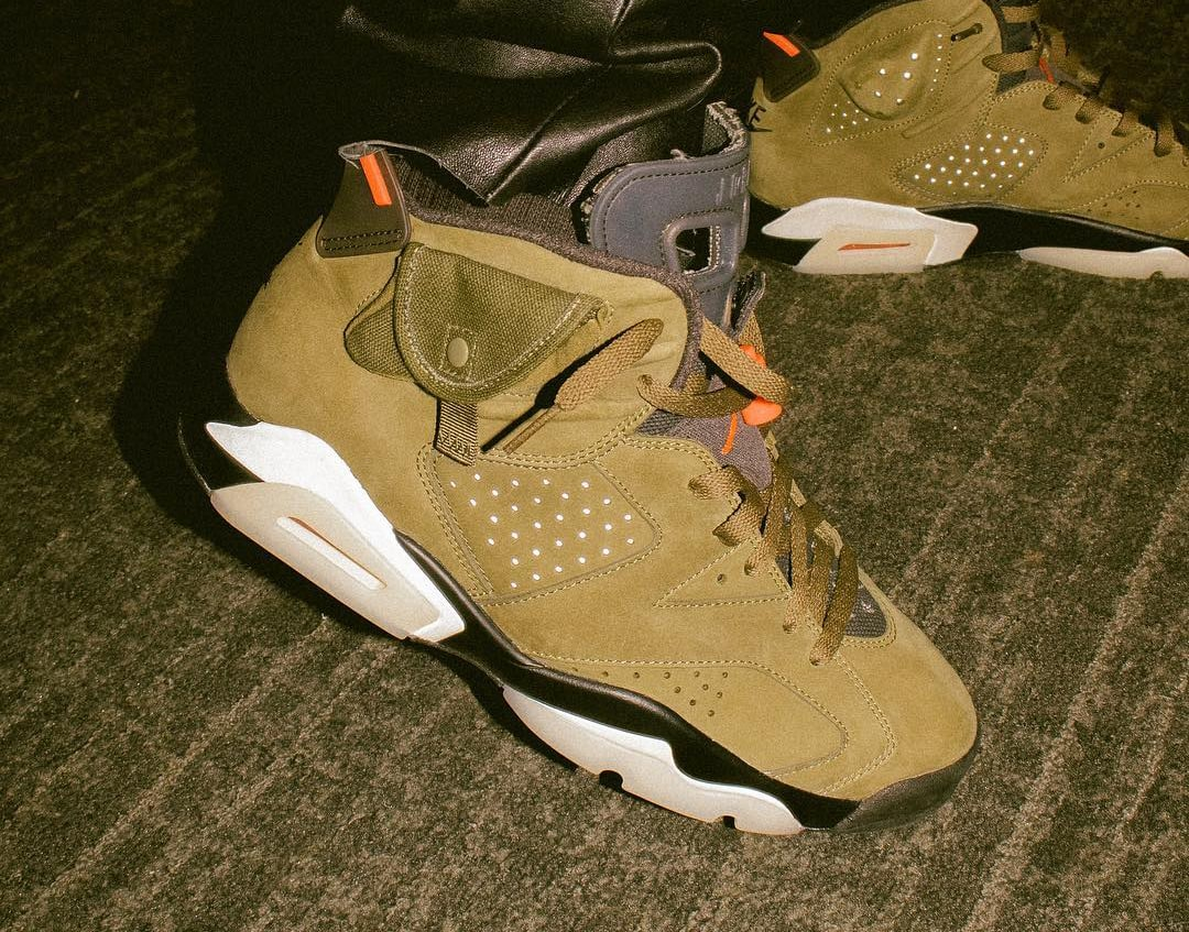 f5d0c8ec2854 More Looks at Travis Scott s Upcoming Air Jordan 6 Collaboration ...
