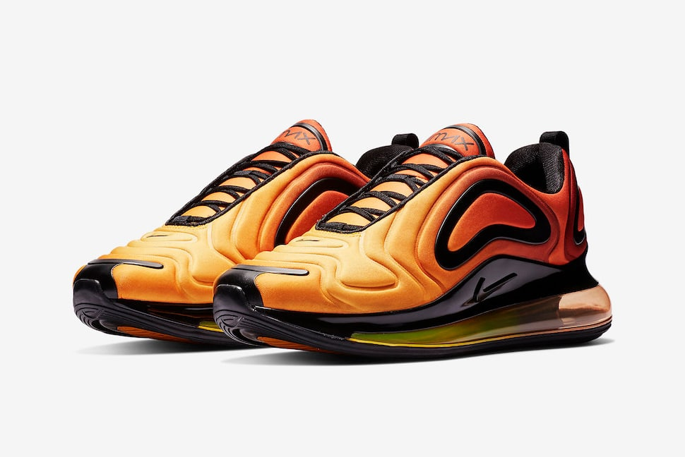 "Official Looks at the ""Sunset"" Air Max 720"