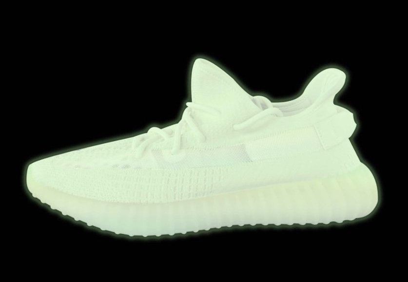 The Two Glow-in-the-Dark YEEZY 350s are